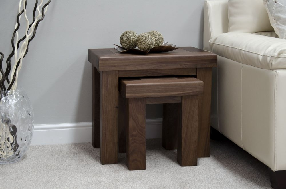Homestyle GB Walnut Nest of Tables