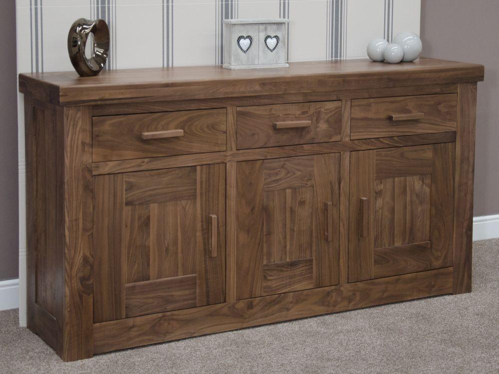 Homestyle GB Walnut Sideboard - 3 Door