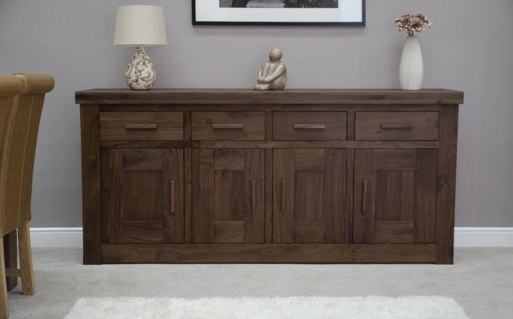 Homestyle GB Walnut Sideboard - 4 Door