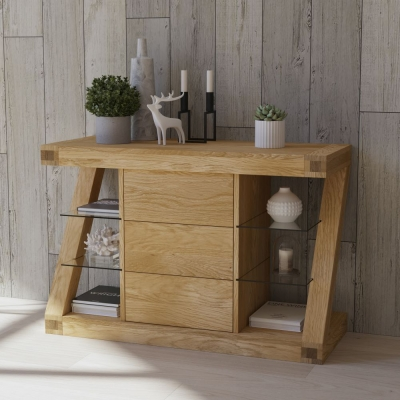 Homestyle GB Z Designer Oak Small Sideboard