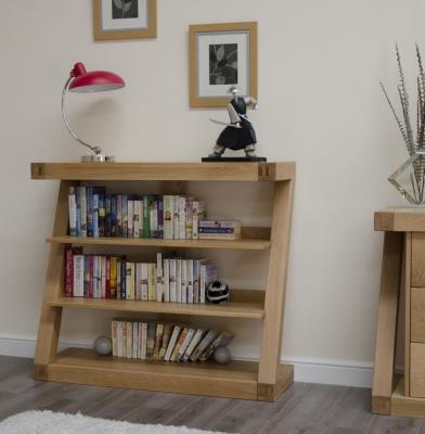 Homestyle GB Z Oak Designer Bookcase - Small
