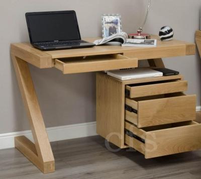 Homestyle GB Z Oak Designer Desk - Small