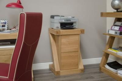Homestyle GB Z Designer Oak Filing Cabinet