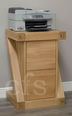 Homestyle GB Z Oak Designer Filing Cabinet