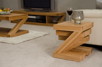 Homestyle GB Z Oak Designer Nest of Tables
