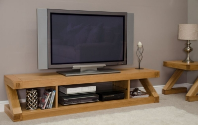 Homestyle GB Z Oak Designer Plasma Unit - Large