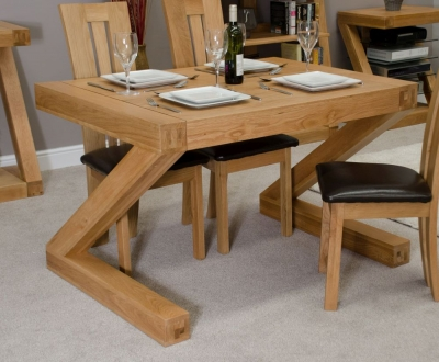 Homestyle GB Z Designer Oak Small Dining Table