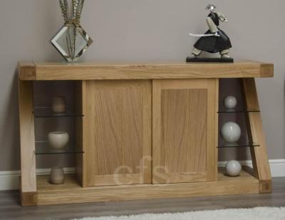 Homestyle GB Z Oak Designer Sideboard - Large