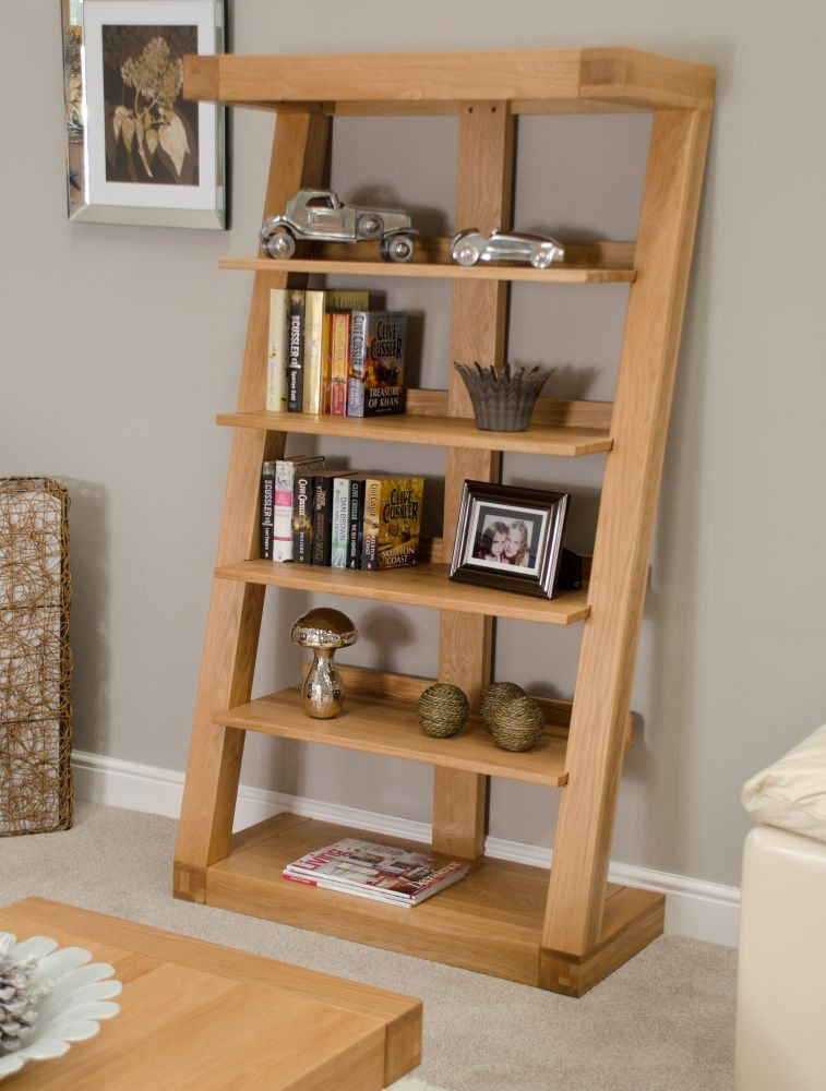 Buy Homestyle Gb Z Oak Designer Bookcase Large Online Cfs Uk