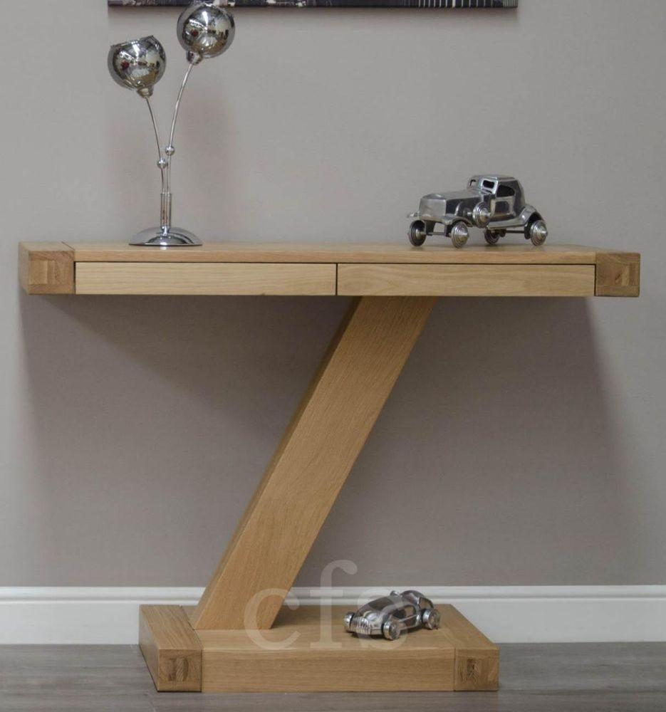 Homestyle GB Z Oak Designer Console Table
