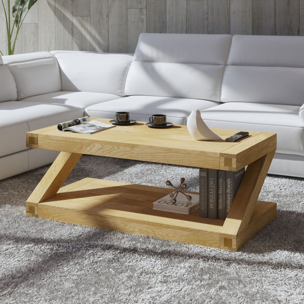 Homestyle GB Z Designer Oak Large Coffee Table