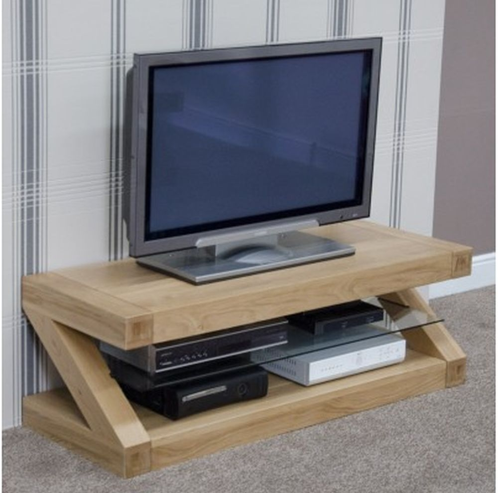 Homestyle GB Z Oak Designer Plasma TV Unit