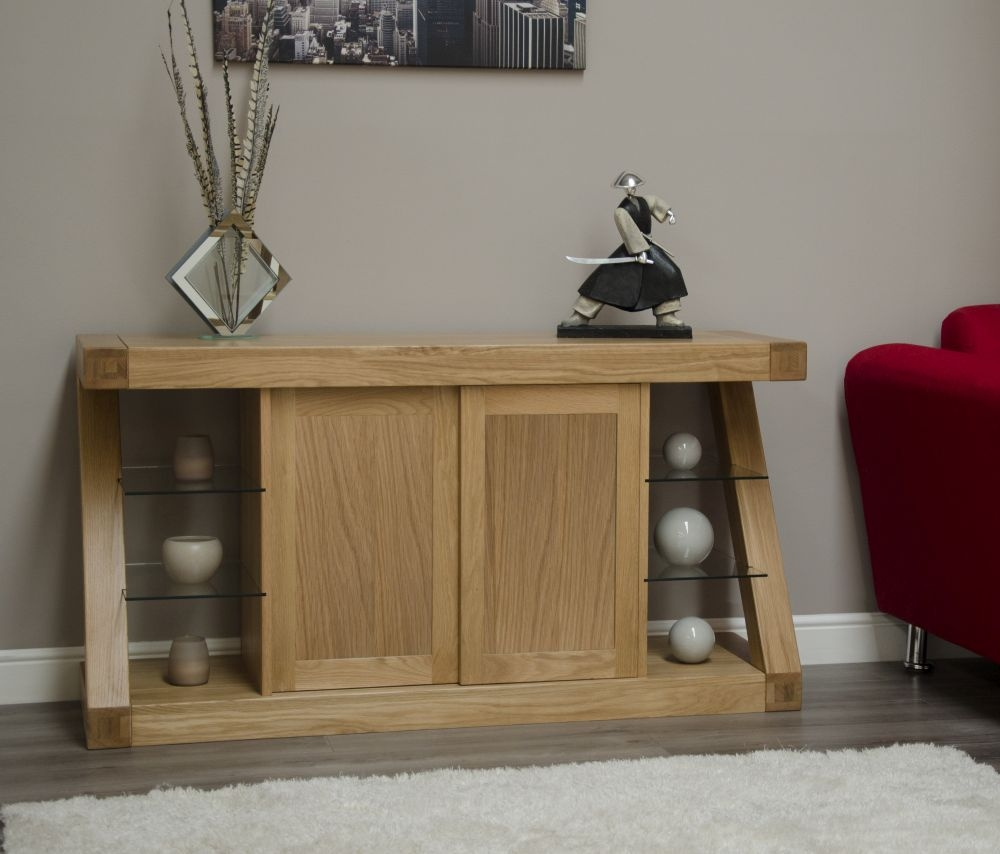 Homestyle GB Z Oak Designer 2 Door Wide Sideboard