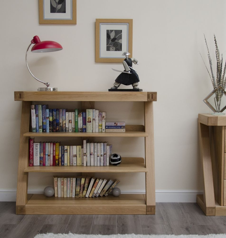 Homestyle GB Z Designer Oak Small Bookcase