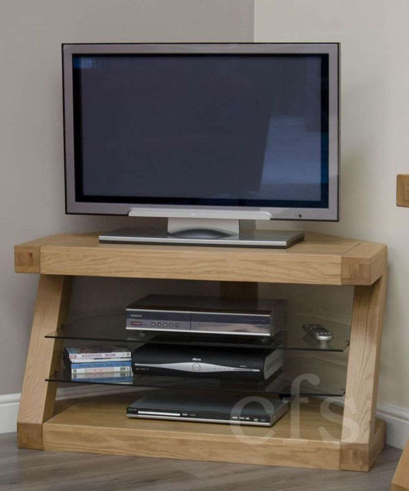 Homestyle GB Z Oak Designer TV Unit  Corner