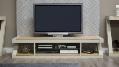 Homestyle GB Z Painted Large Plasma TV Cabinet