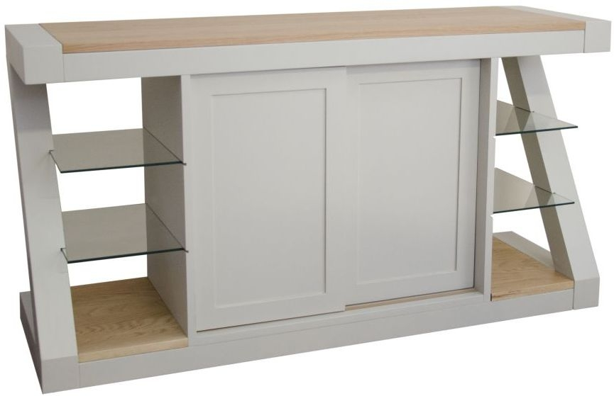 HomeStyle GB Z Painted 2 Door Wide Sideboard