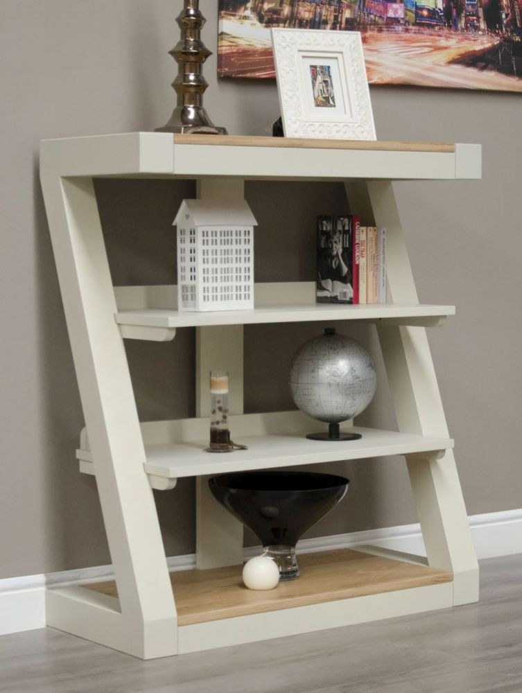 HomeStyle GB Z Painted Small Bookcase