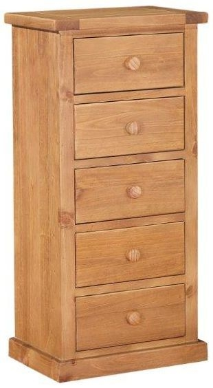 Abington Pine Chest of Drawer - 5 Drawer