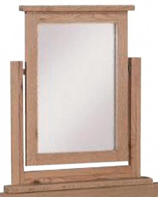 Appleby Mini Oak Dressing Mirror
