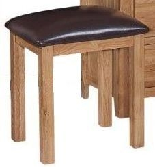 Appleby Mini Oak Dressing Stool