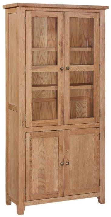 Appleby Mini Oak Display Cabinet