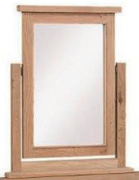 Appleby Oak Dressing Single Mirror