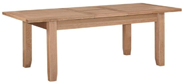 Appleby Oak Dining Table - 180cm Extending