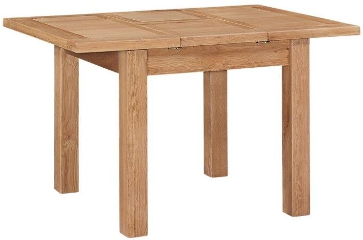 Appleby Oak Dining Table - 90cm Extending