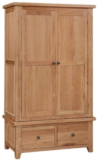 Appleby Oak Wardrobe - 2 Door