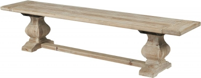 Asbury Reclaimed Pine Dining Bench
