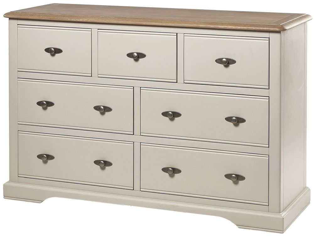Chester Ivory Chest of Drawer - 3+4 Drawer
