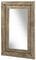 Columbia Reclaimed Teak Rectangular Mirror - 92cm x 123cm