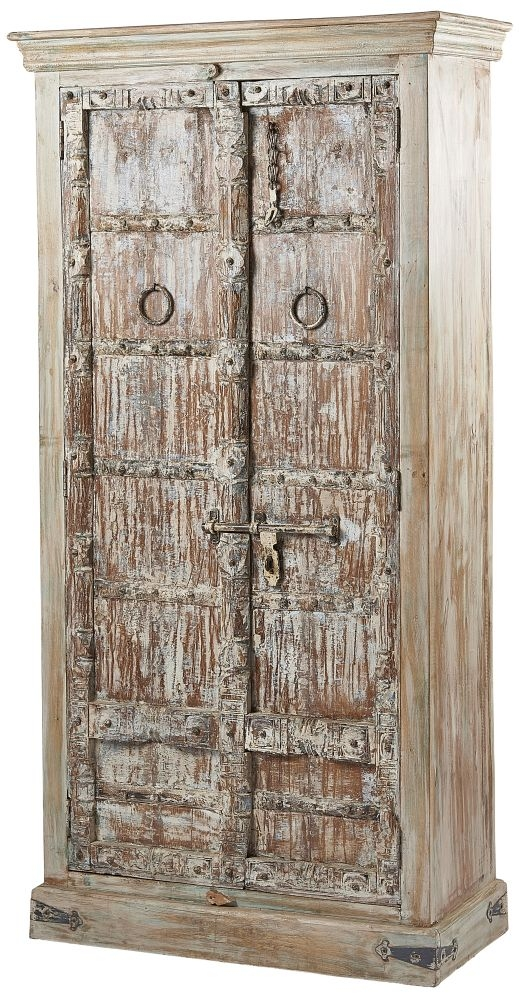 Columbia Reclaimed Teak 2 Door Wardrobe