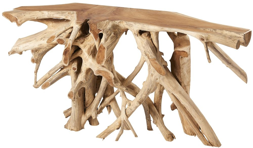 Fontana Tree Root Large Console Table