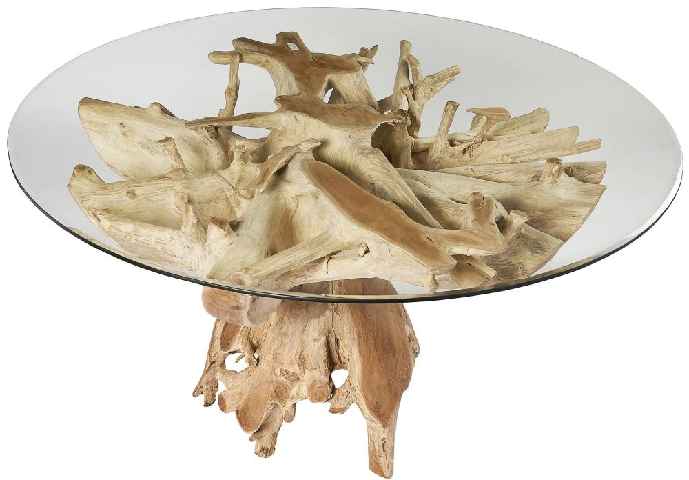 Fontana Tree Root Oval Small Dining Table