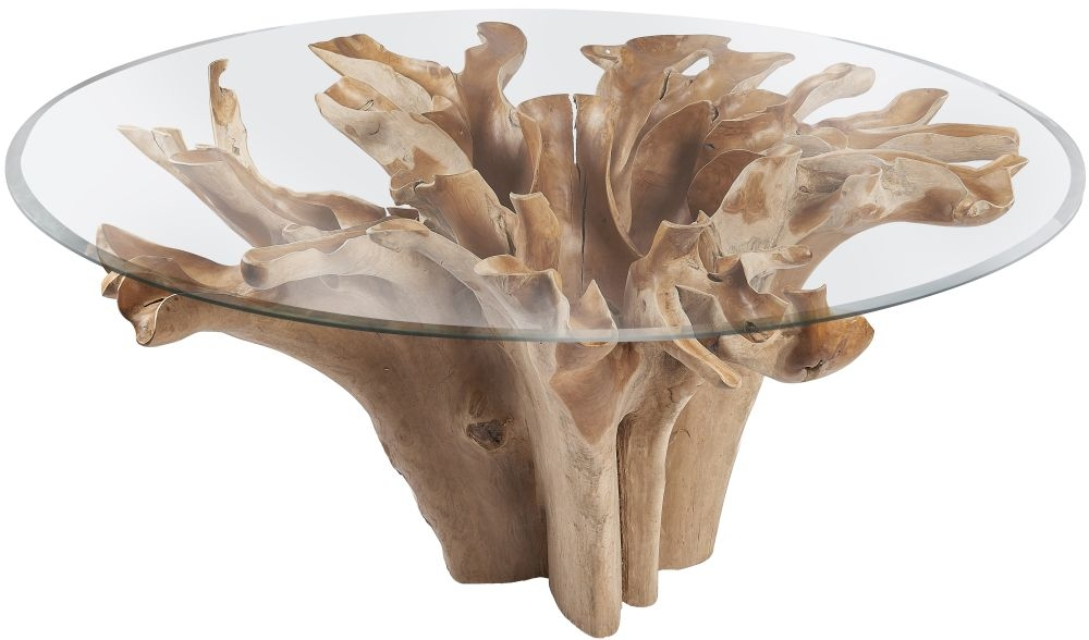Fontana Tree Root Round Large Dining Table