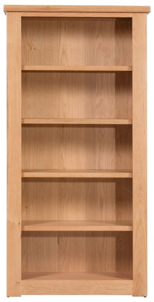 Harvington Solid Oak Bookcase - Large