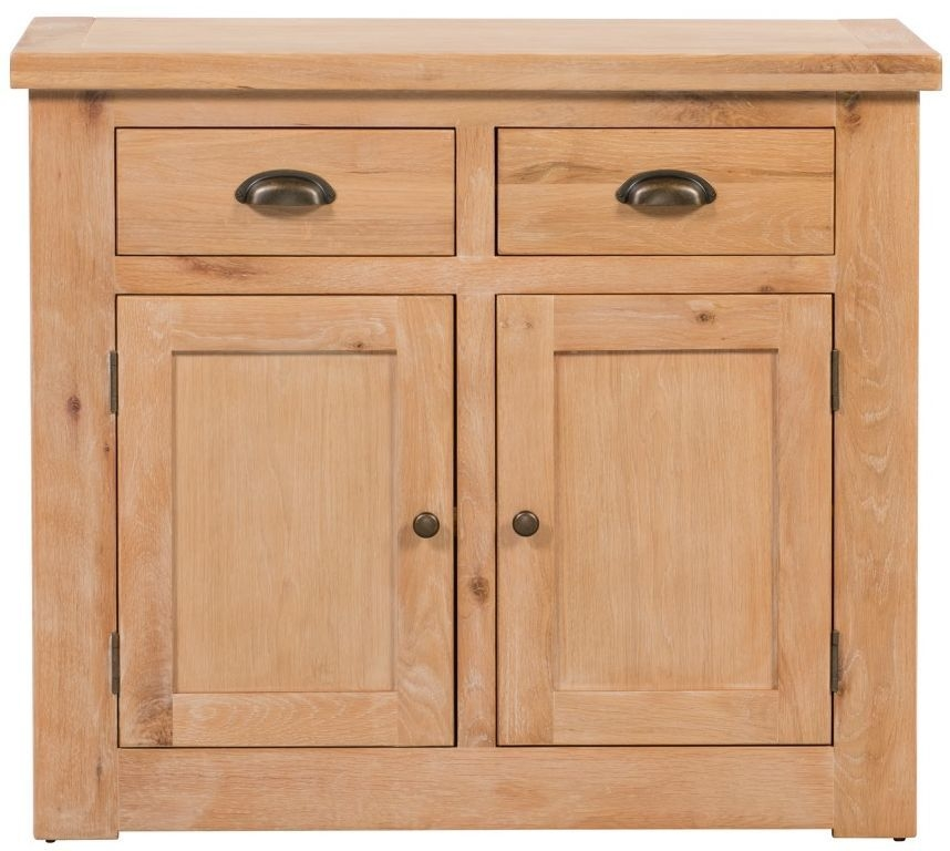 Harvington Solid Oak Sideboard - 2 Door 2 Drawer