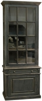 Lockport Mahogany Single Glazed Display Cabinet