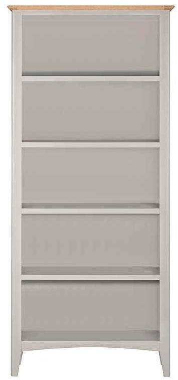 Lowell Oak and Grey Painted Large Bookcase