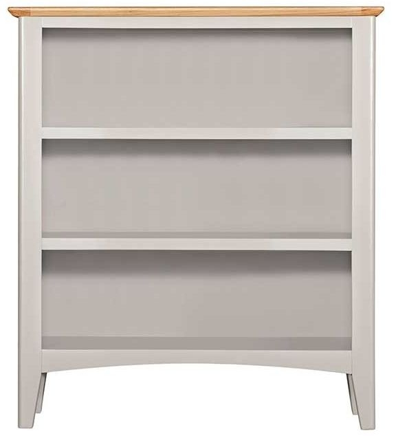 Lowell Oak and Grey Painted Small Bookcase