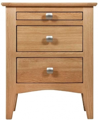 Lowell Natural Oak Bedside Cabinet