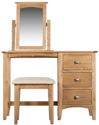 Lowell Natural Oak Dressing Table
