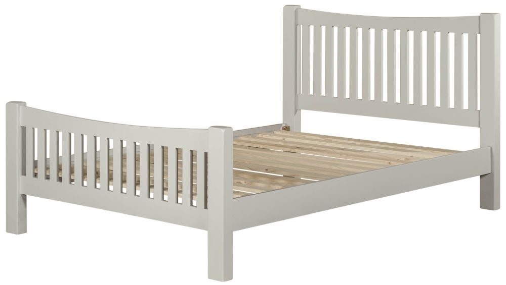 Lundy Grey Bed