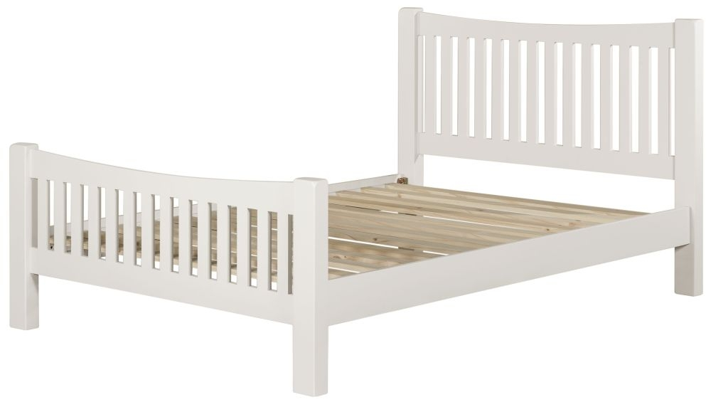 Lundy White Bed