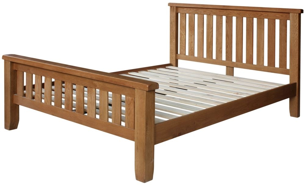 Lyon Oak Bed