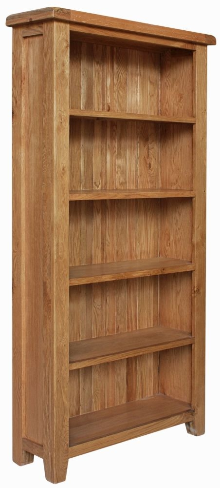 Lyon Oak Bookcase - Large
