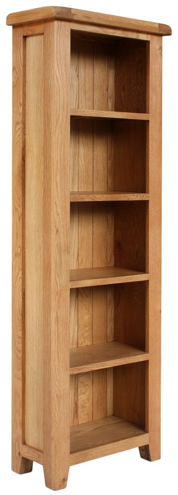 Lyon Oak Medium Bookcase