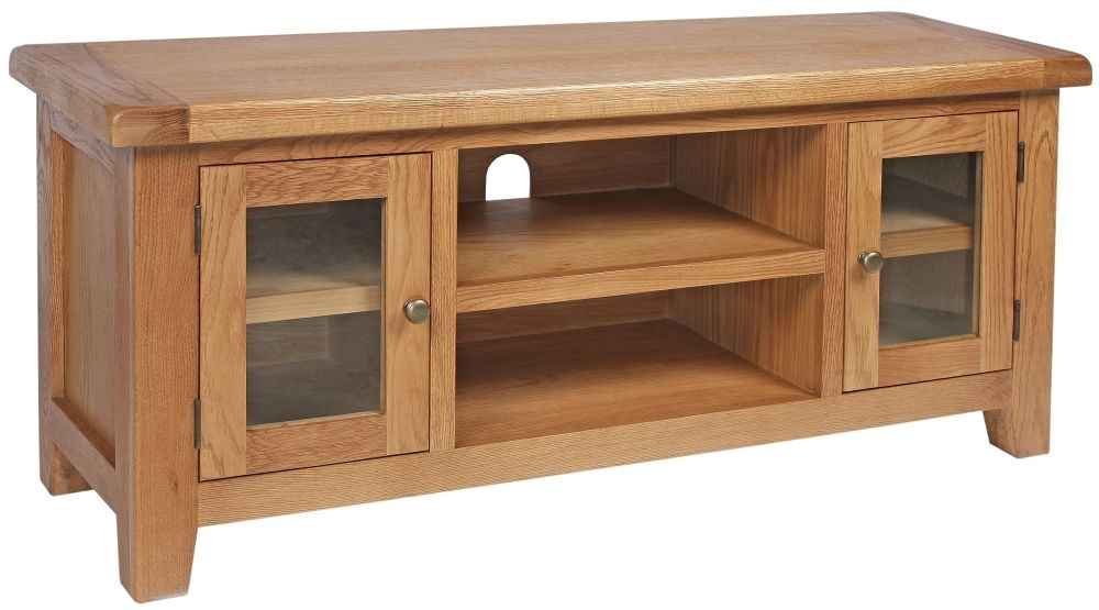 Lyon Oak TV Unit - Small